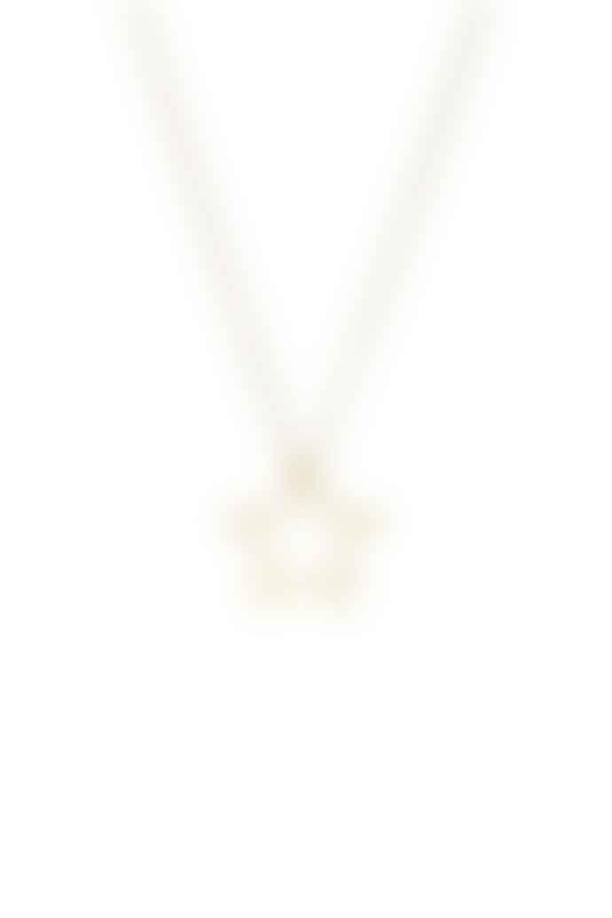 Tutti & Co Neptune Gold Star Necklace
