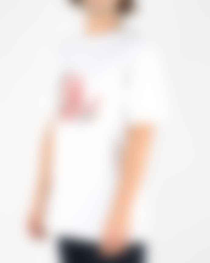 Soulland  Strandmark T Shirt White