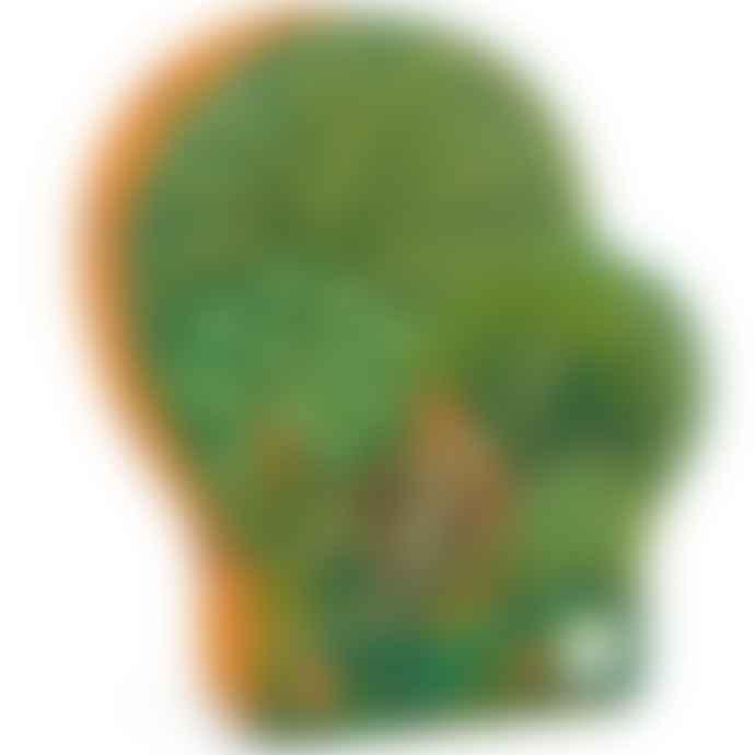 Djeco  Djeco In the Jungle Silhouette Jigsaw Puzzle Age 5+