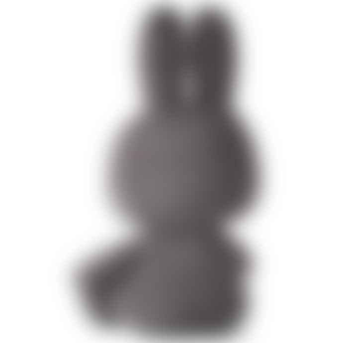 Miffy Big Dark Gray Hug Corduroy Polyester Miffy