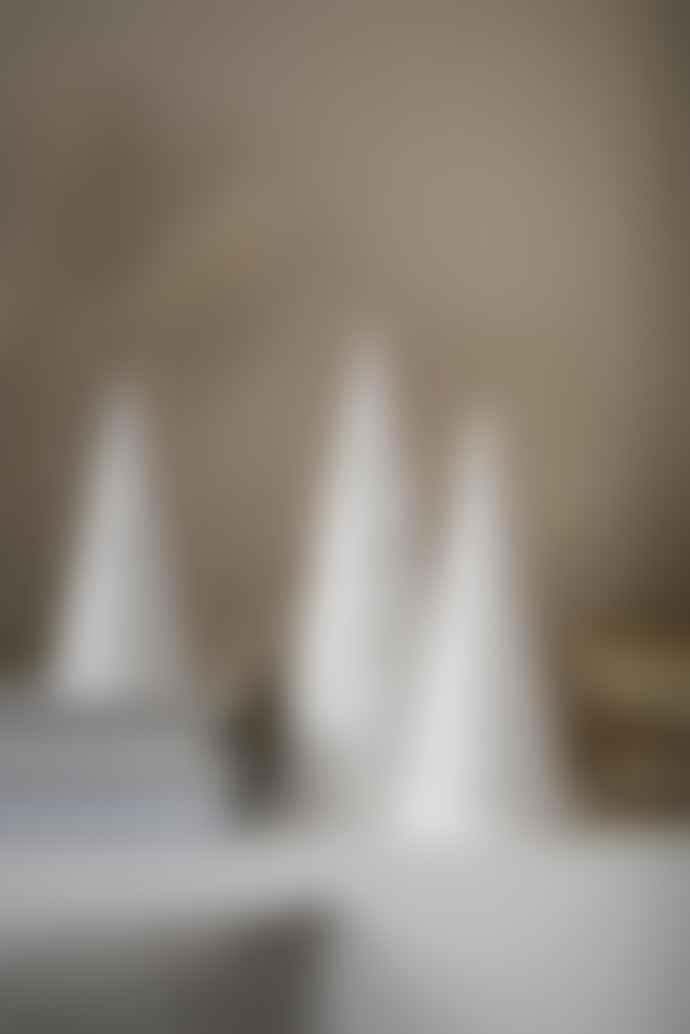 Kähler Kahler Nobili Tealight Holder Large White