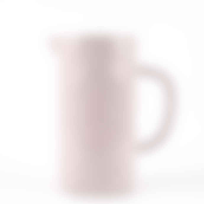 Quail's Egg Quail Design Light Pink Ceramic Jug