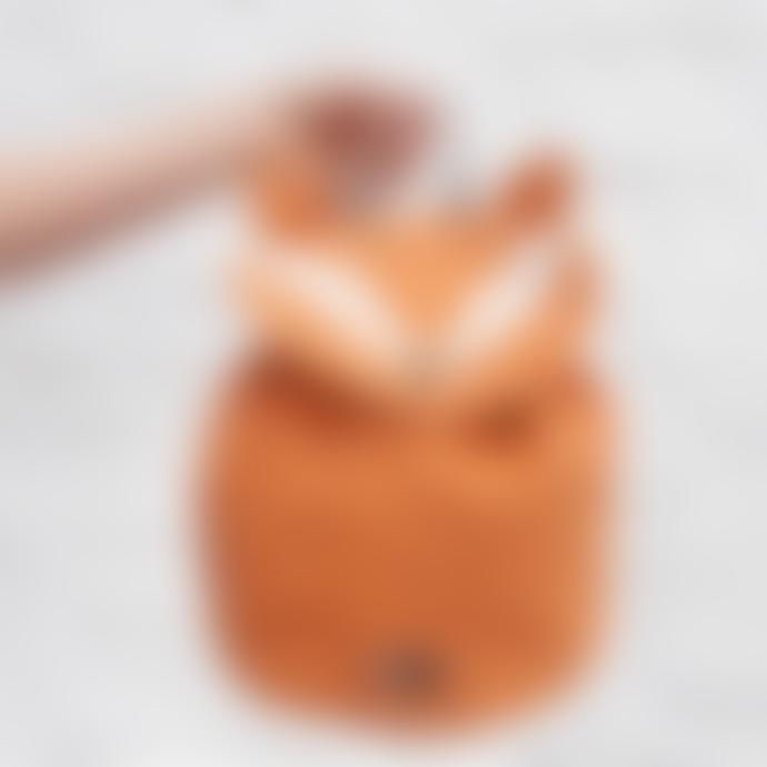 Trixie Mini Cotton Mr Fox Backpack