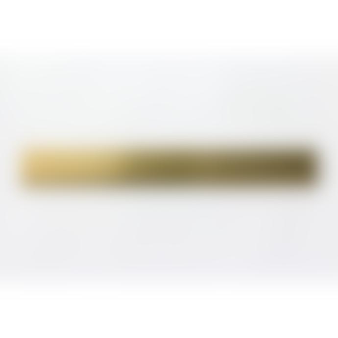 Traveler's Company Solid Brass Ruler