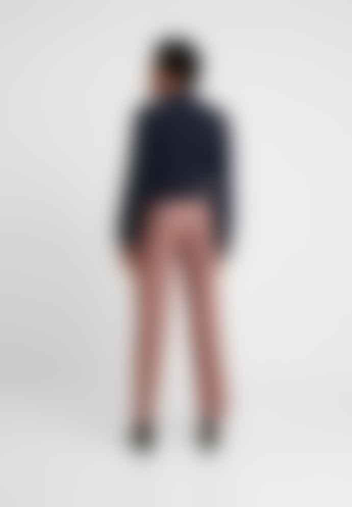 Leon & Harper Filbert Check Camel Trousers