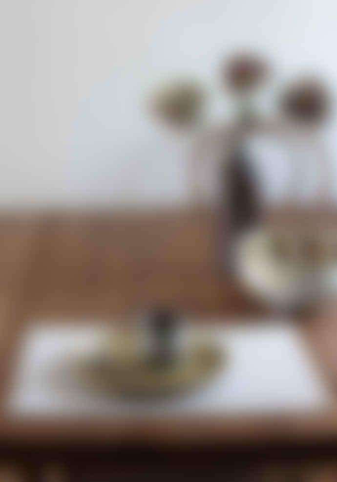 Lapuan Kankurit 48 x 35cm White Linen Hanki Placemat
