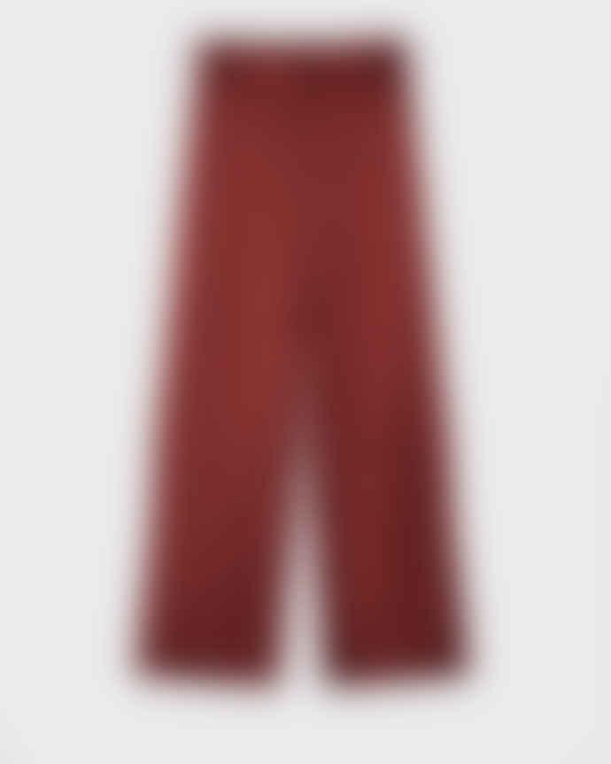 Minimum Debitta dress pants in fired brick