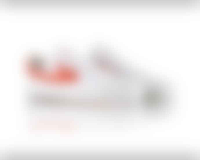 Warrior Footwear Warrior Basketball Shoes Classic Low White Red