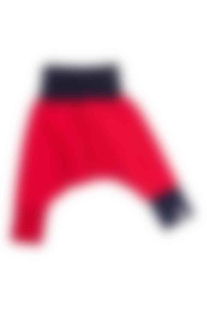 LaMAMA Mini Yoga Pants Red Navy