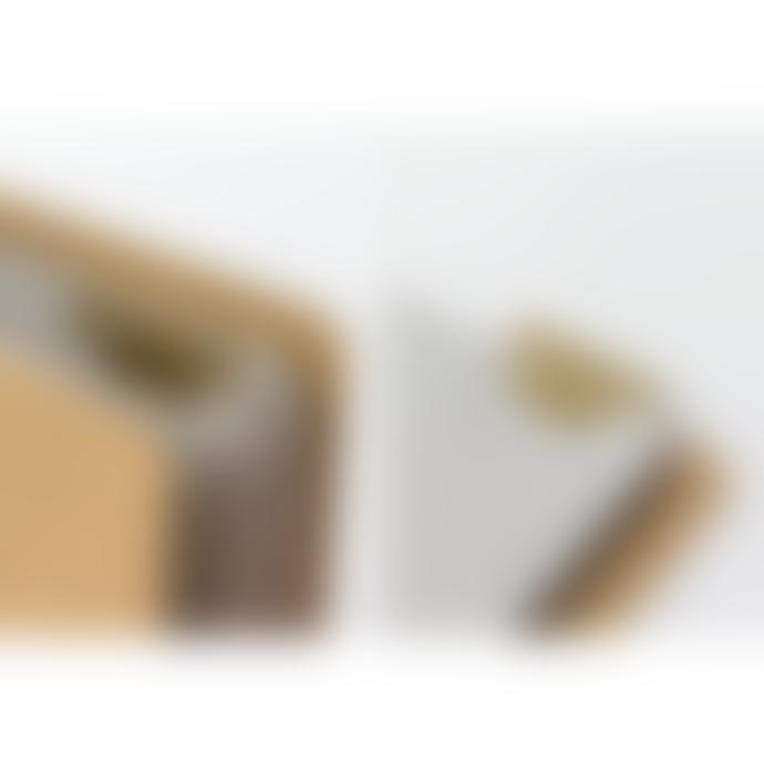Traveler's Company Brass Alphabet Template Bookmark