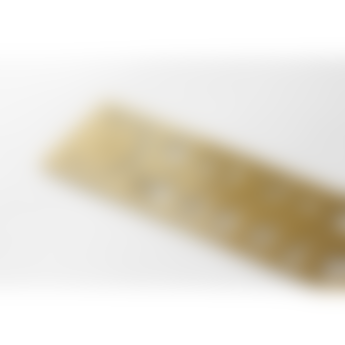 Traveler's Company Brass Number Template Bookmark