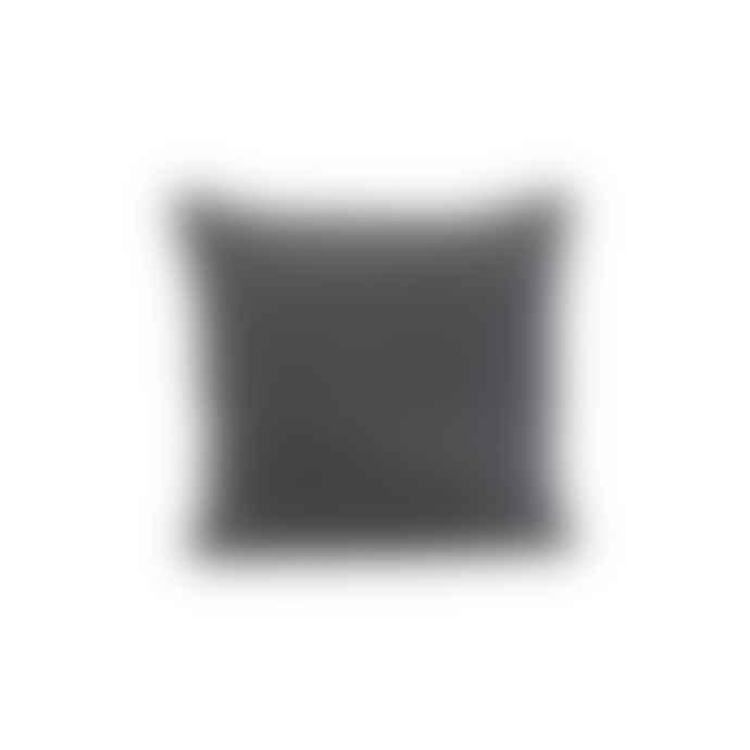 House Doctor Lia Cushion Cover Dark Grey