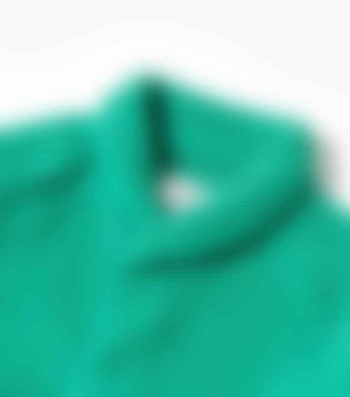 YMC Delinquent Rib Collar Shirt Green