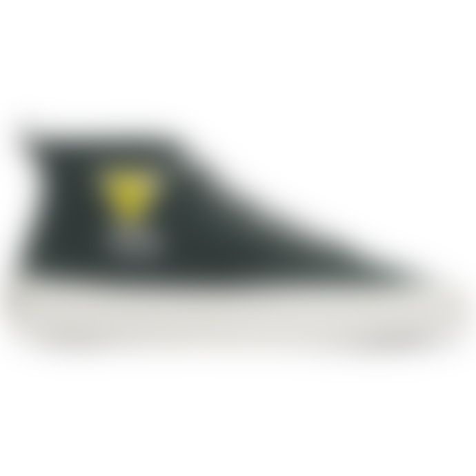 Maison Kitsune Green Polyester High Top Kool Fox Shoes