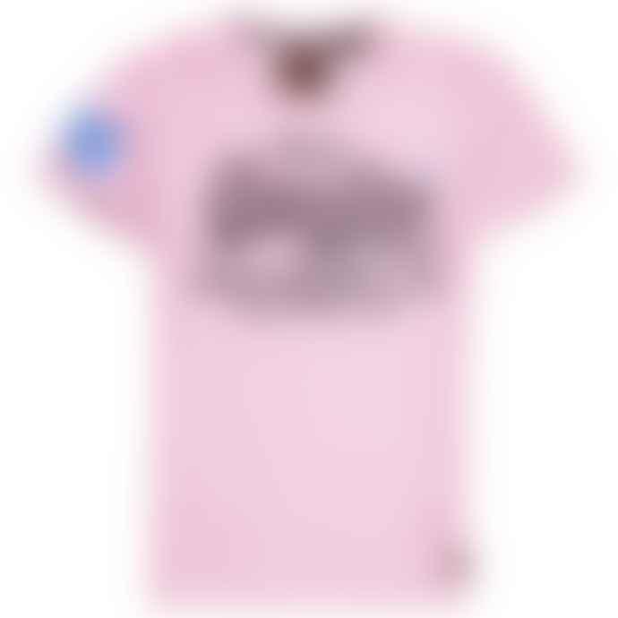 Superdry Vintage Authentic Pastel T Shirt Pastel Pink Marl