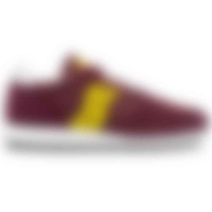 Saucony Originals Jazz Original Vintage Trainers Maroon Yellow