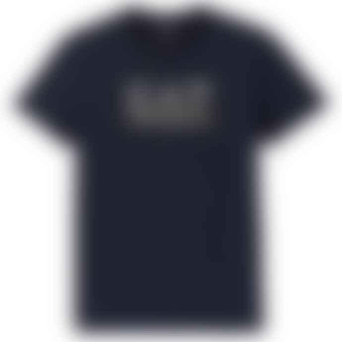 Emporio Armani  Ea 7 New Classic Logo T Shirt Navy