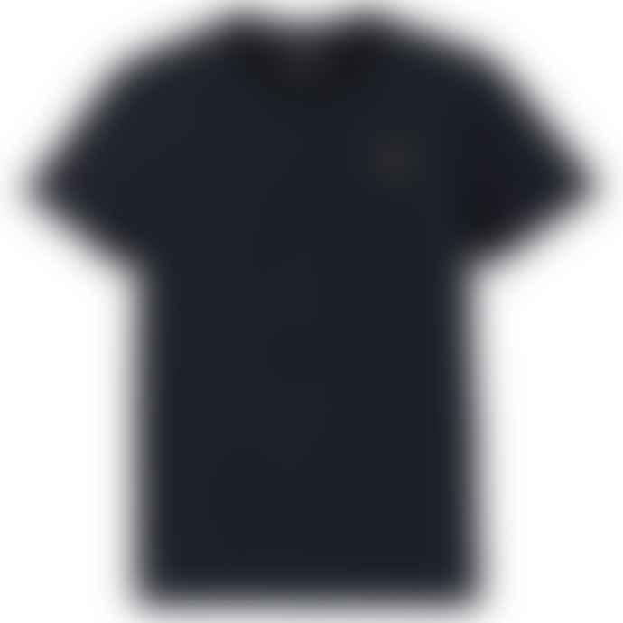 Emporio Armani  Ea 7 New Badge T Shirt Navy