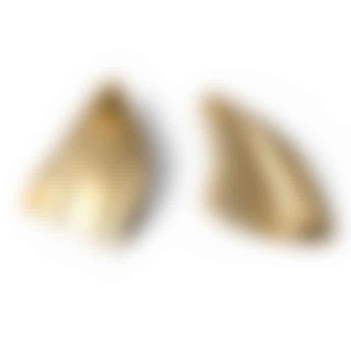 Ruddock 18 Carat Gold Plated Bronze Lorne Earrings