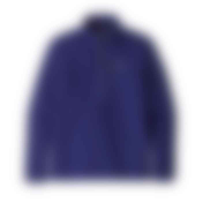 Patagonia Cobalt Blue Polyester Mens Retro Pile Fleece Pullover