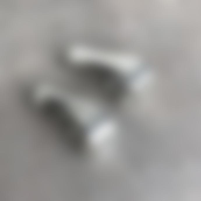 Ruddock Solid Sterling Silver Freya Earrings