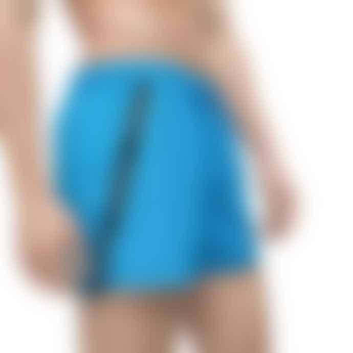 Calvin Klein Short Drawstring Swim Shorts Ibiza Blue