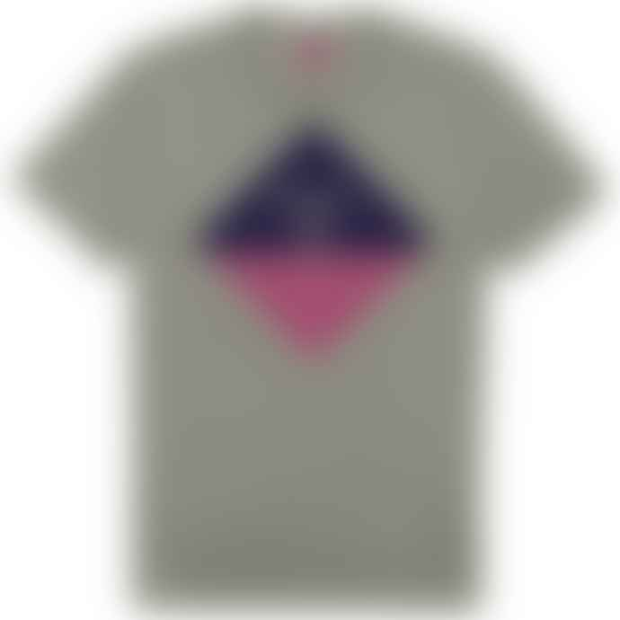 Barbour Beacon Diamond T Shirt Smoke