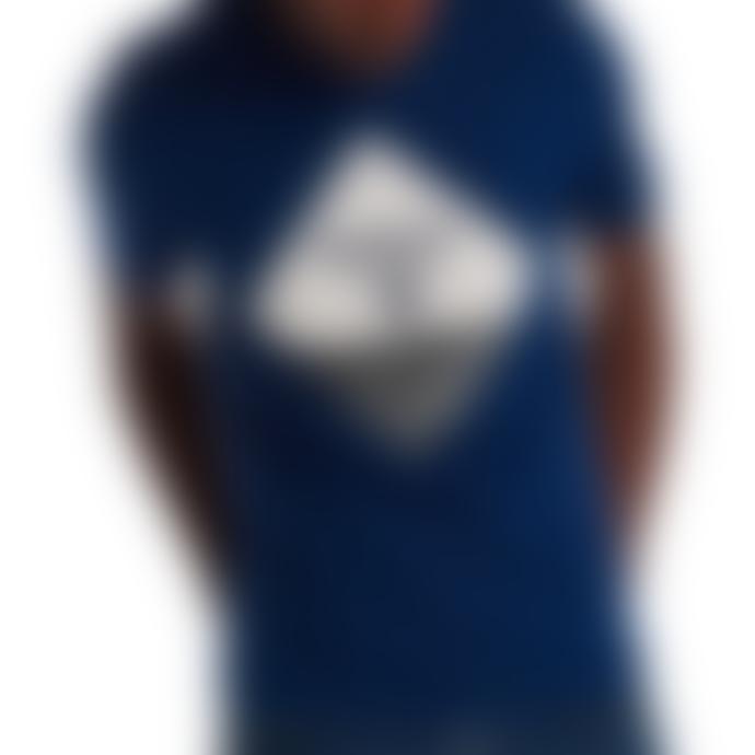 Barbour Beacon Diamond T Shirt Regal Blue