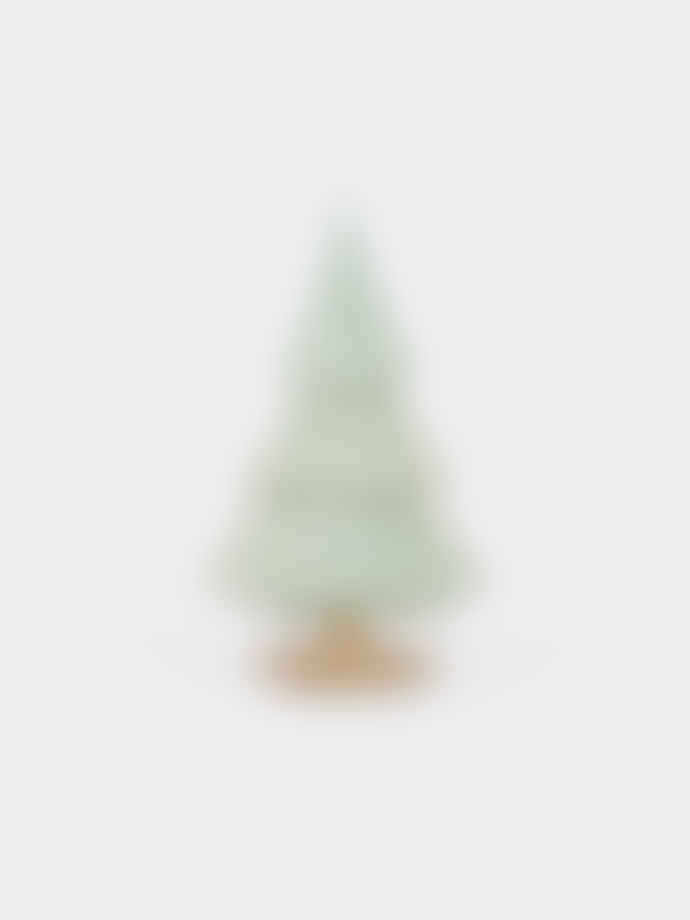 laboratorio d'estorias Ceramic Green Large Christmas Tree Ornament