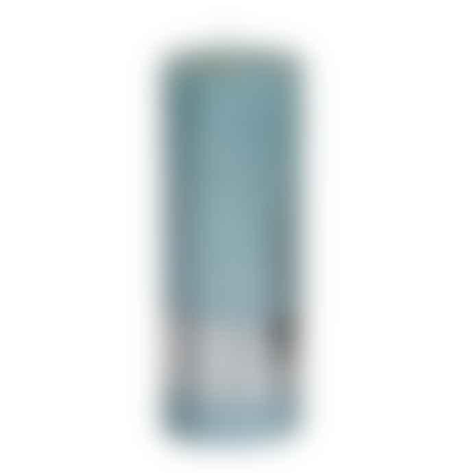 PTMD 18 x 7cm Mint Green Metallic Pillar Candle