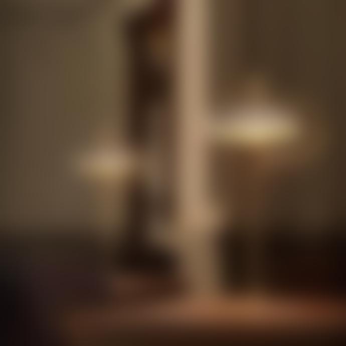 Aromas Del Campo White Aloa Table Lamp