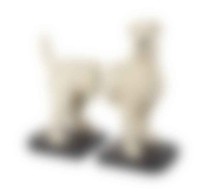 Persora Fox Terrier Dog Bookends