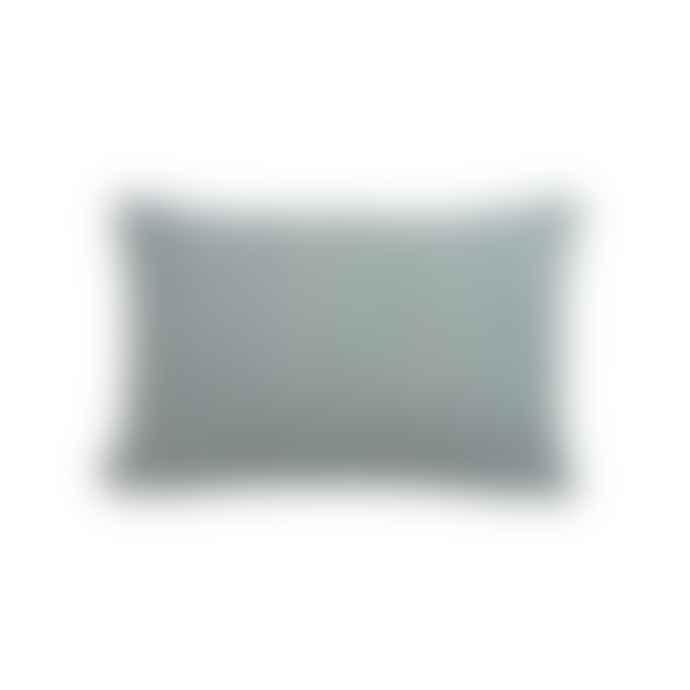 OYOY Tenji Plaid Wool Cushion Pale Blue