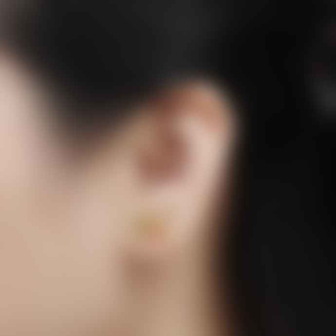 Bill Skinner Swallow Floral Stud Earrings