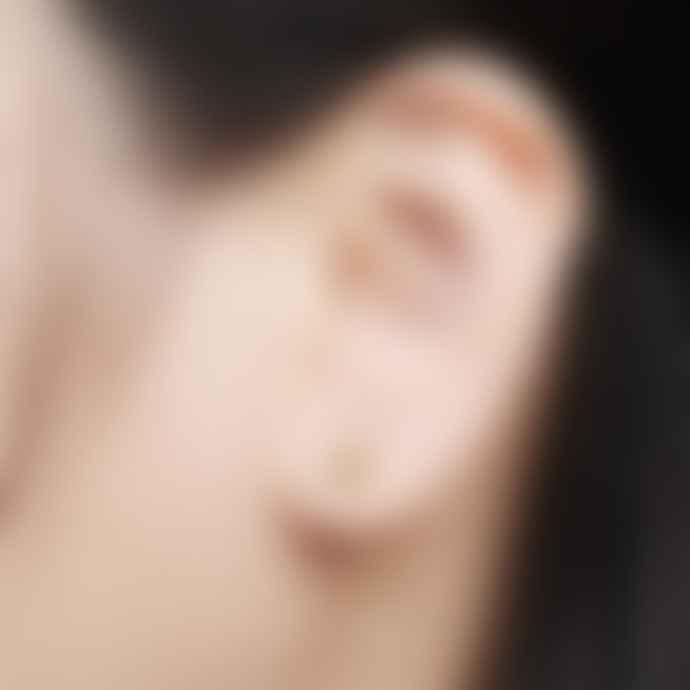 Bill Skinner Hexagon Bee Crystal Drop Earrings