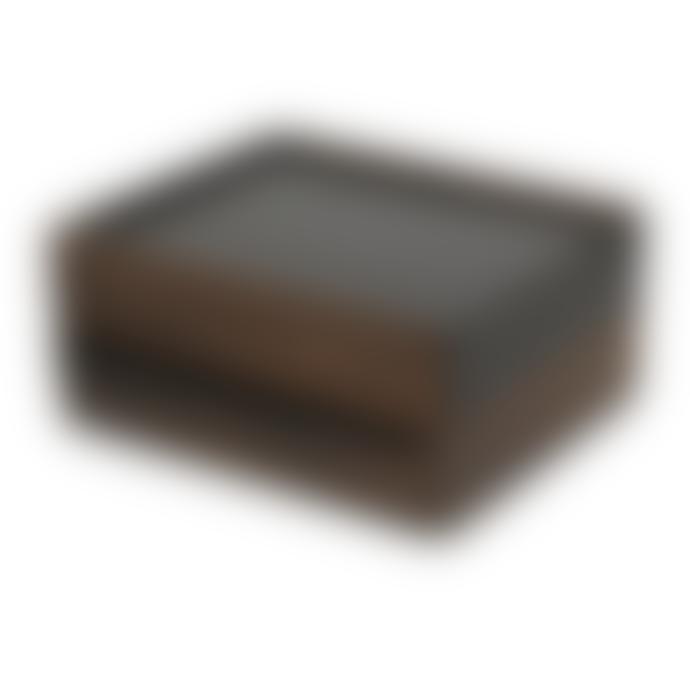 Umbra Black Walnut Metal Stowit Jewelery Box