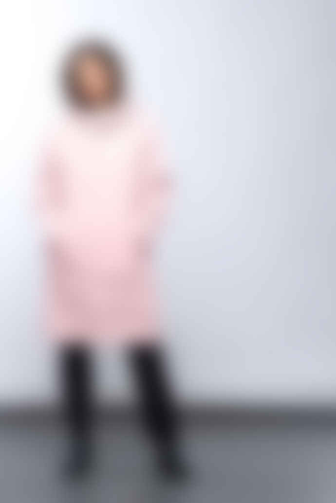 Maium Pink Raincoat X Poncho Recycled PU