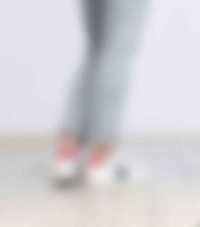 Veja Extra White Nautico Pekin Leather Shoes