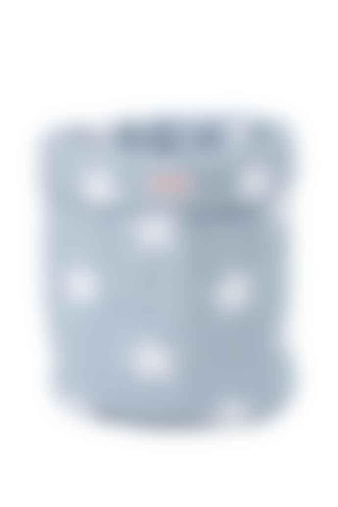 wigiwama Canvas Padded Toy Bag Large Grey Stars