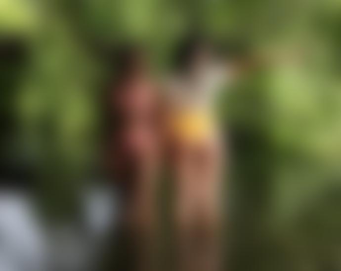 Anecdote Blush Line Bikini Top