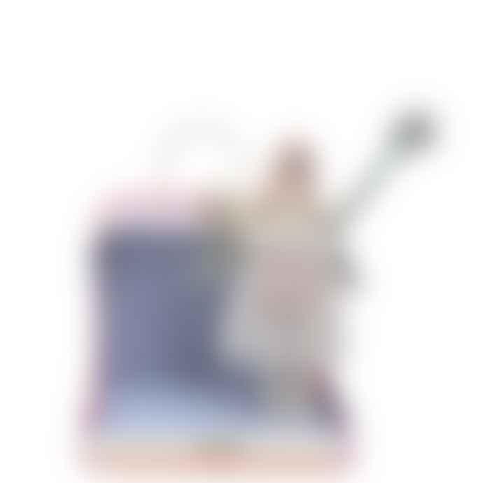 Meri Meri Silver Evie Mini Suitcase Doll