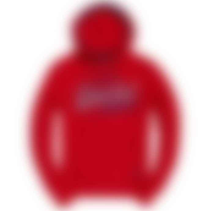 Superdry Vintage Logo Racer Hood Rouge Red