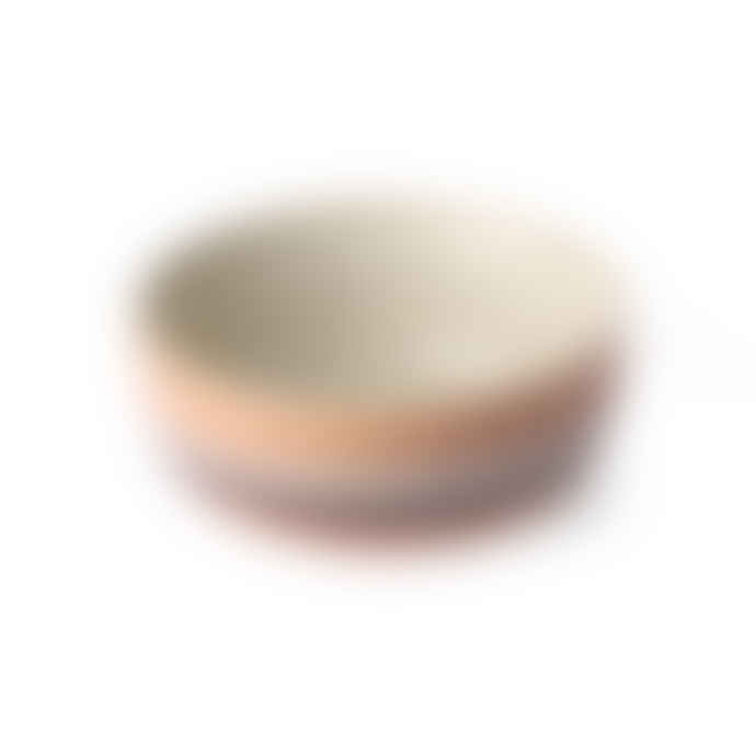 HKliving Ceramic 70's Bowl Medium Tornado