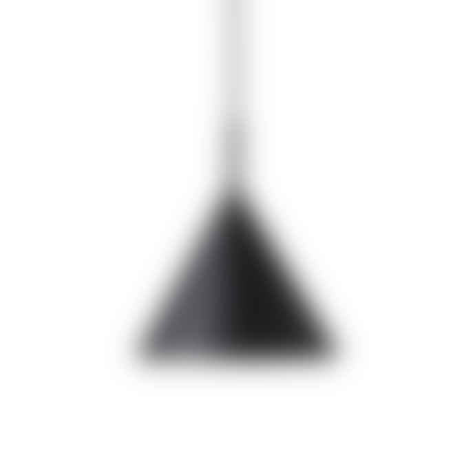 HK Living Metal Triangle Lamp Matt Black