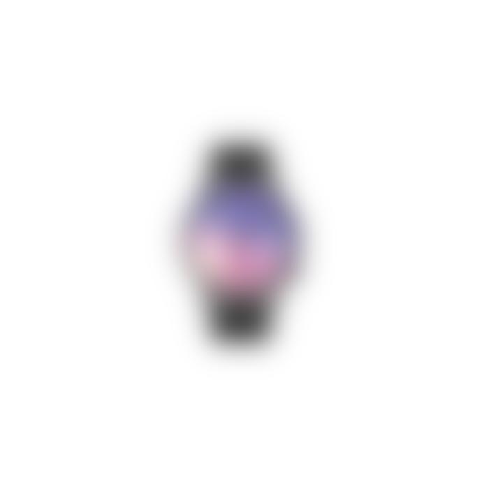 Komono Black Winston Halo Wristwatch