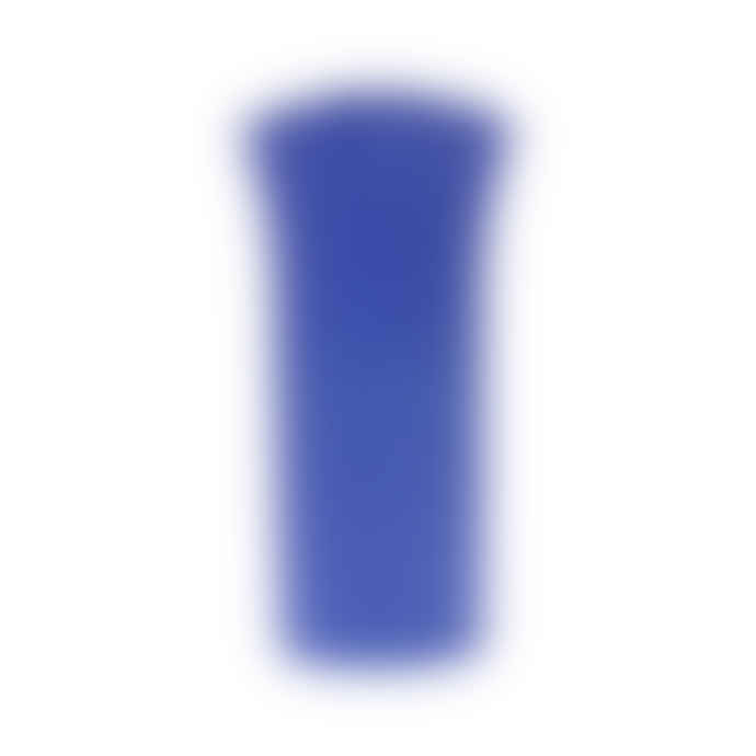 HKliving Cobalt Blue Matt Flower Vase