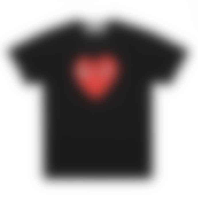 Comme Des Garcons Red Play T-Shirt (Black) P1T112
