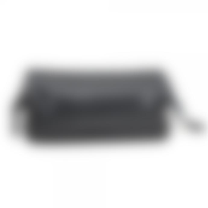 Loake Thames Black Leather Washbag
