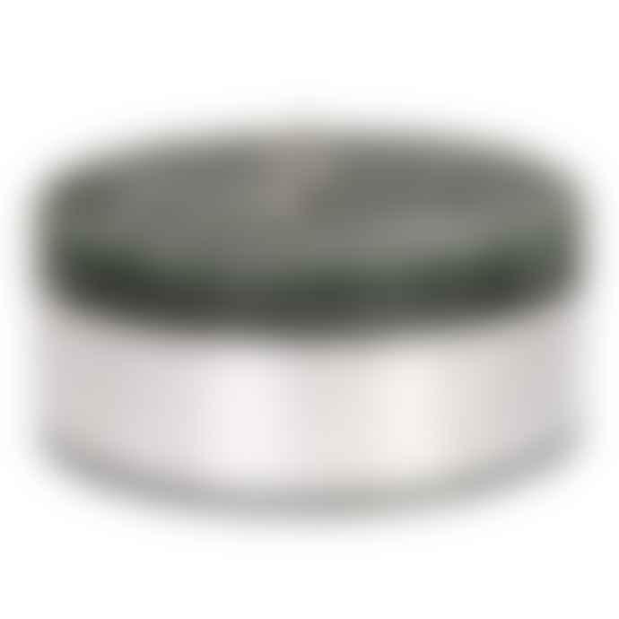 PTMD 14 x 6cm Dark Green Wax Rustic Pillar Candle