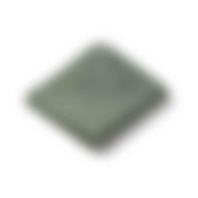 Liewood Dino Faune Green Cotton Augusta Hooded Kids Towel